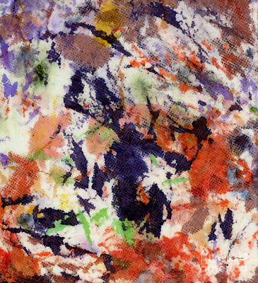 Abstract Expressionism - Hh0803181432 by Hailey E Herrera