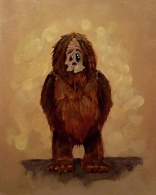 Painting - Hi, Im Scott by Carole Hutchison