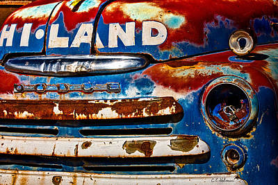 Photograph - Hi-land by Christopher Holmes