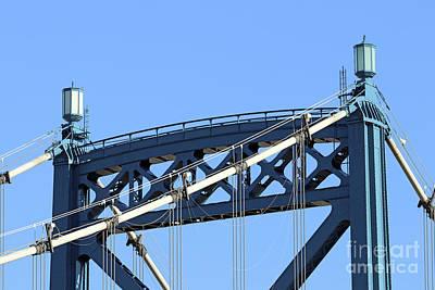 Photograph - Hi Level Bridge 5134 by Jack Schultz