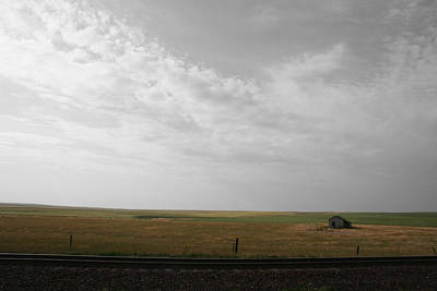 Photograph - Hi-line Homestead by Dylan Punke