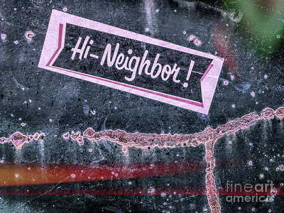 Photograph - Hi Neighbor  by Todd Breitling