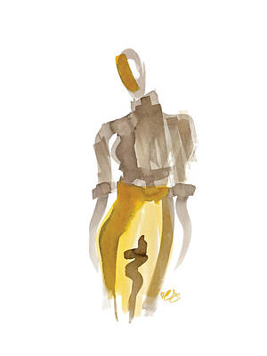 Hi Pants Art Print by Carl Griffasi