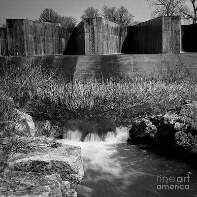 Photograph - Hi Tech Dam by Fred Lassmann
