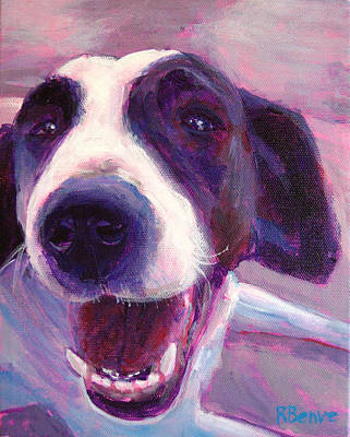 Painting - Hi There Doggie by Robie Benve