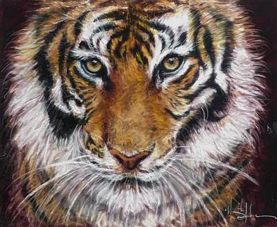 Clemson Wall Art - Painting - Hi There by Marguerite Anderson