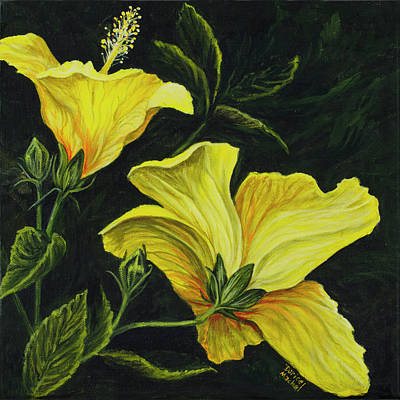 Realistic Photograph - Hibiscus 2 by Darice Machel McGuire