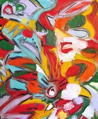 Alfredo Llana Painting - Hibiscus by Alfredo Llana