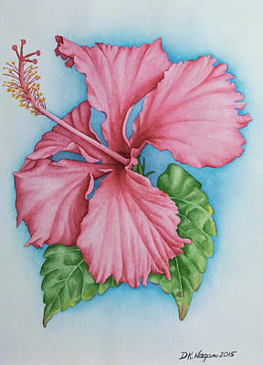 Painting - Hibiscus Dream by DK Nagano