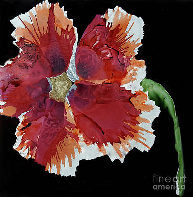 Painting - Hibiscus Flower by Terri Mills