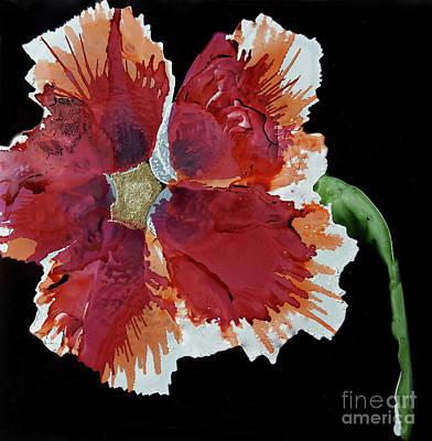Painting - Hibiscus Flower by Terri Mills