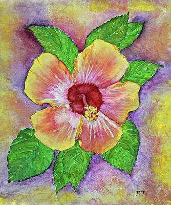 Painting - Hibiscus by Janet Immordino