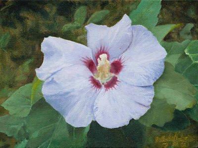 Art Print featuring the painting Hibiscus by Joshua Martin