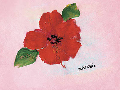 Hibiscus Art Print by Katie OBrien - Printscapes