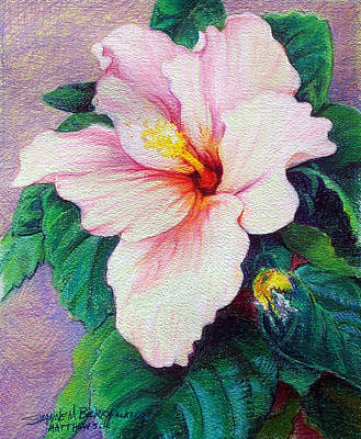 Painting - Hibiscus Light by Suzanne Berry