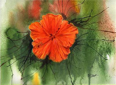 Hibiscus Original by Marsha Elliott