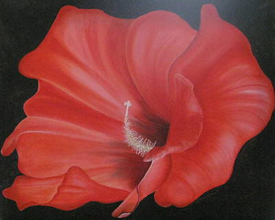Painting - Hibiscus Melody by RJ McNall