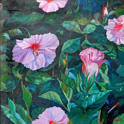 Painting - Hibiscus by Michael McDougall