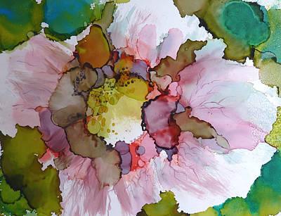 Hibiscus Art Print by P Maure Bausch