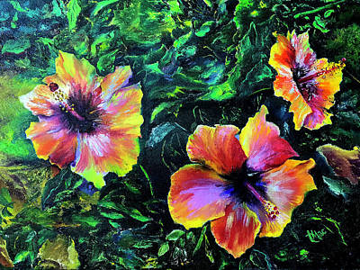 Painting - Hibiscus by Terry R MacDonald