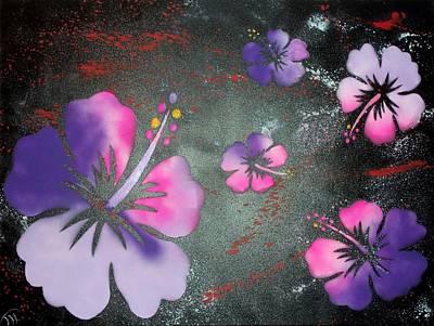 Hibiscus Art Print by Trenton Heckman