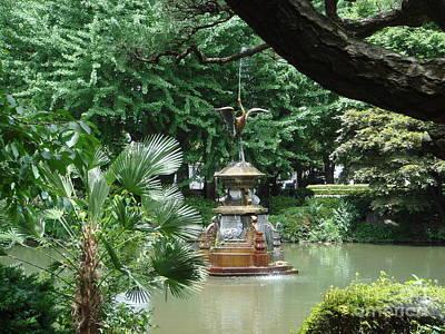 Photograph - Hibiya Park Fountain Tokyo by Yvonne Johnstone