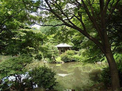 Photograph - Hibiya Park Tokyo by Yvonne Johnstone