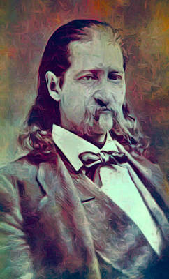 Hickok Painterly Art Print