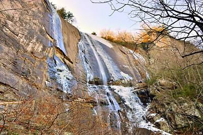 Photograph - Hickory Nut Falls At Chimney Rock State Park by Lisa Wooten