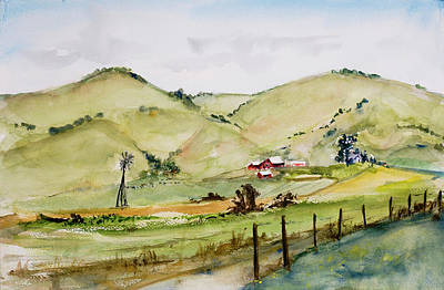 Painting - Hicks Valley by Tom Simmons