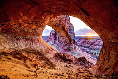Cave Photograph - Hidden Alcove by Chad Dutson