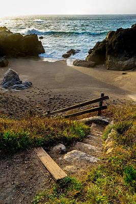 Photograph - Hidden Beach by Derek Dean