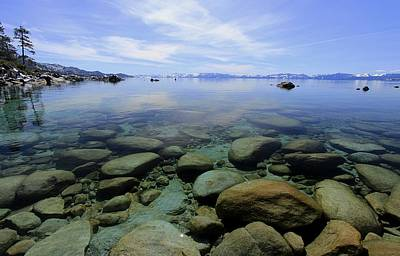 Photograph - Hidden Beach..north Lake Tahoe by Sean Sarsfield