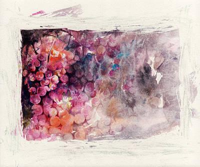 Winery Painting - Hidden Beauty by Rachel Christine Nowicki