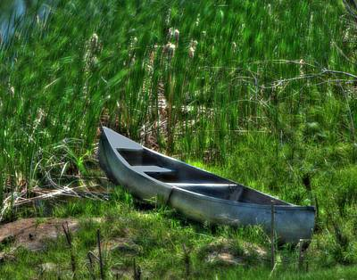 Photograph - Hidden Boat by Don Wolf