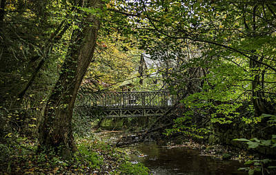 Photograph - Hidden Bridge At Offas Dyke by Spikey Mouse Photography