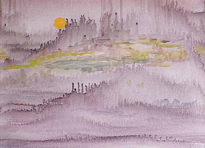 Painting - Hidden City by Carol L Miller