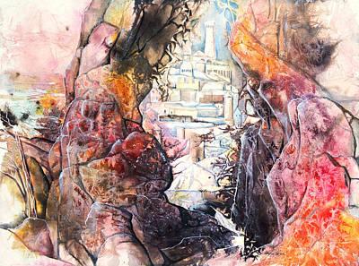 Hidden City Original by Patricia Allingham Carlson
