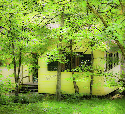 Photograph - Hidden Cottage - Mammoth Cave National Park - Kentucky  by Greg Jackson