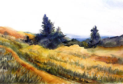 Country Dirt Roads Mixed Media - Hidden Country Road  by Barbara Jung