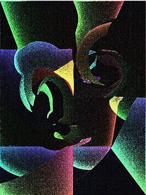 Hidden Emotions Art Print by Yasar Aleem