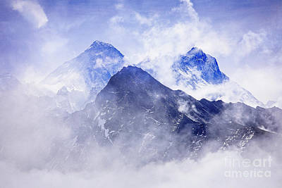 Photograph - Hidden Everest by Scott Kemper