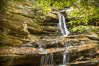 Photograph - Hidden Falls-hanging Rock State Park by Bob Decker