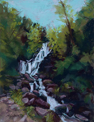 Painting - Hidden Falls by Mary Benke