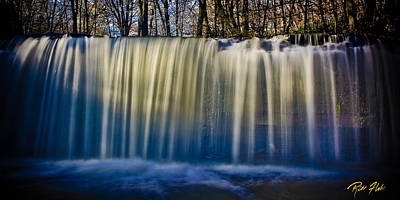 Photograph - Hidden Falls Morning Glow by Rikk Flohr