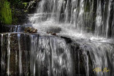 Photograph - Hidden Falls Sparkles by Rikk Flohr