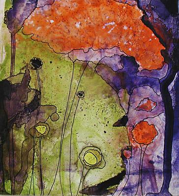 Hidden Forest Art Print by Christy Sobolewski