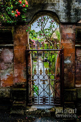 Photograph - Bali Gate by M G Whittingham