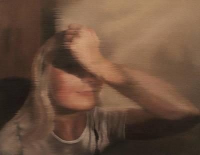 Painting - Hidden Gaze by Cherise Foster