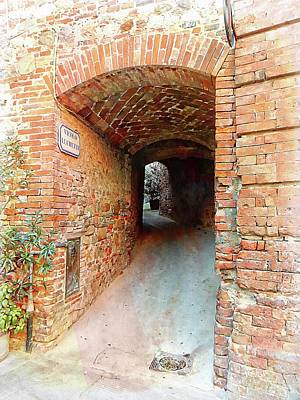 Photograph - Hidden Gems Citta Della Pieve Umbria by Dorothy Berry-Lound